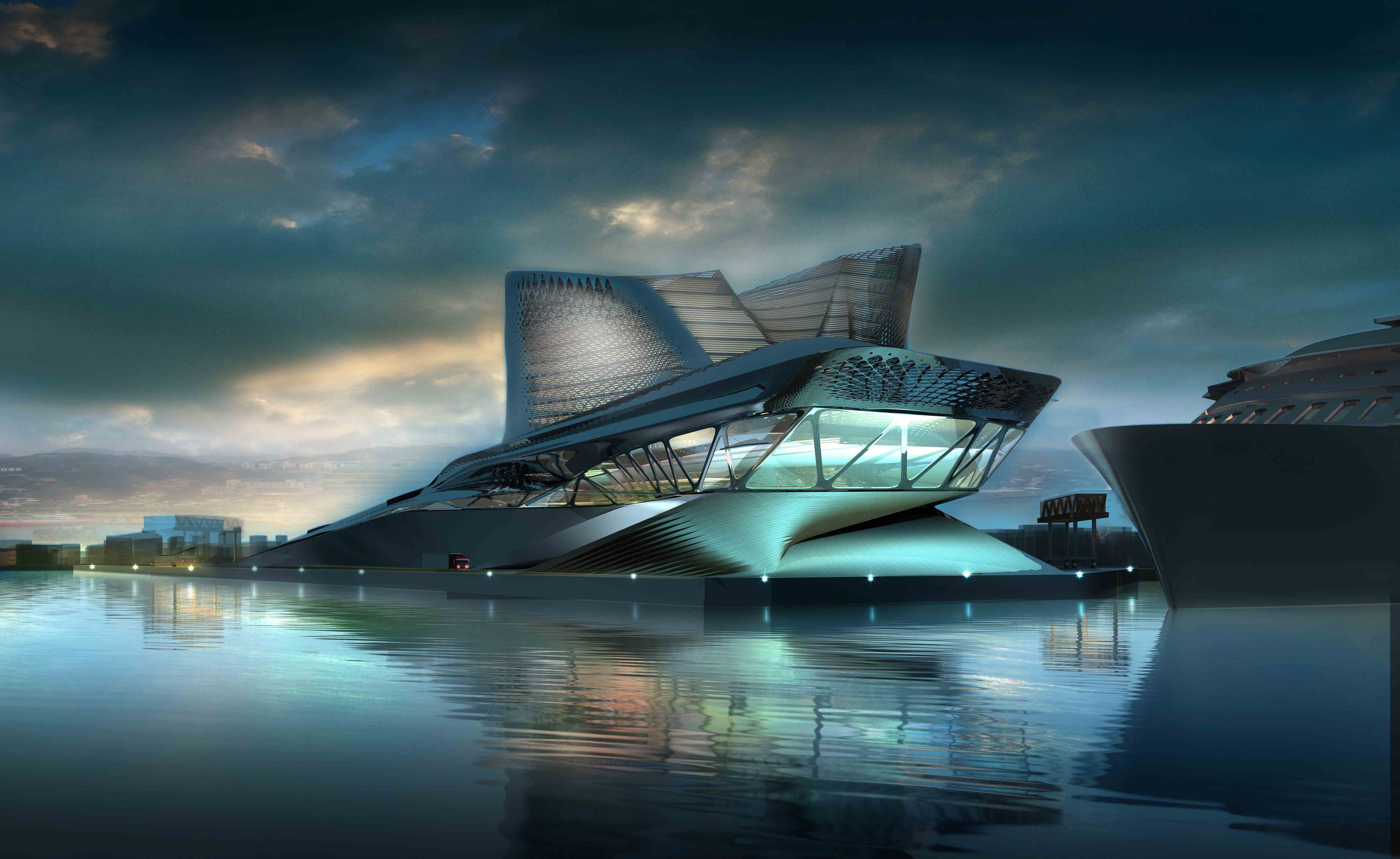 ... For Keelung Harbor Terminal In Taiwan - eVolo | Architecture Magazine